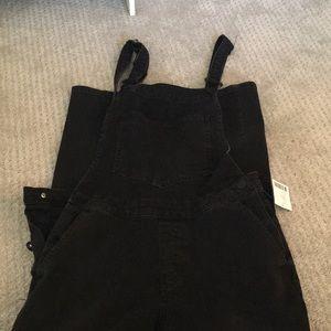Women's Size S Black Overalls